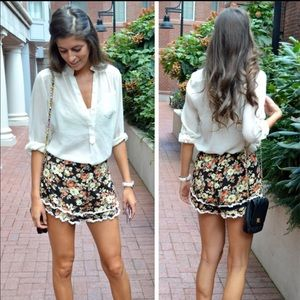 LF floral shorts